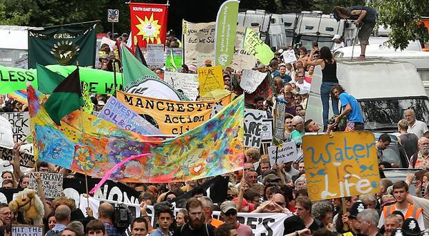 The bill to police anti-fracking protests at Balcombe, West Sussex, is an estimated 4 million pounds