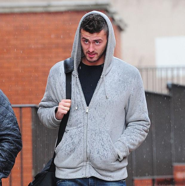 Footballer Gary Madine has been jailed for 18 months after he was found guilty of punching two men in two different nightclub attacks.
