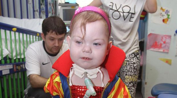 Maisie Harris, who is set to go home for the first time in her life