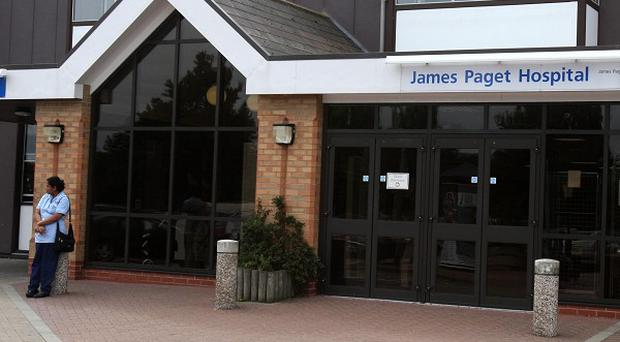 James May, 76, died at the James Paget Hospital in Gorleston, Norfolk, in September