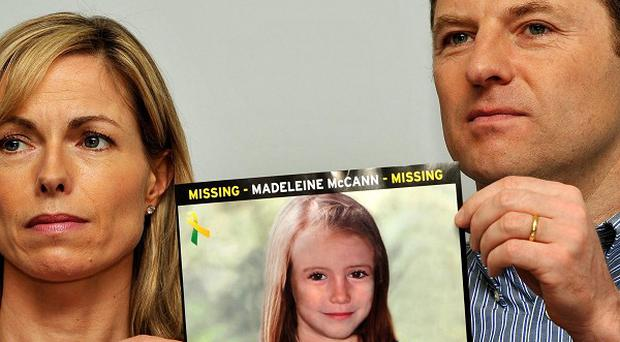 Madeleine McCann's parents Gerry and Kate McCann who are