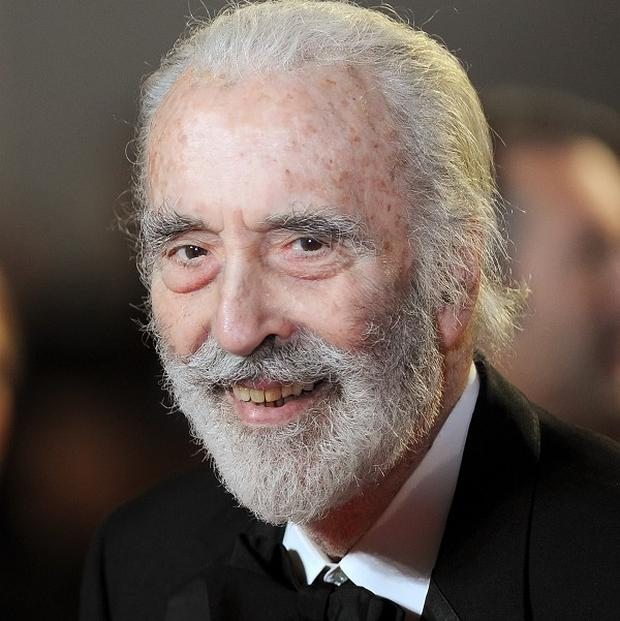 Sir Christopher Lee will receive a major honour from the film world with a fellowship from the British Film Institute