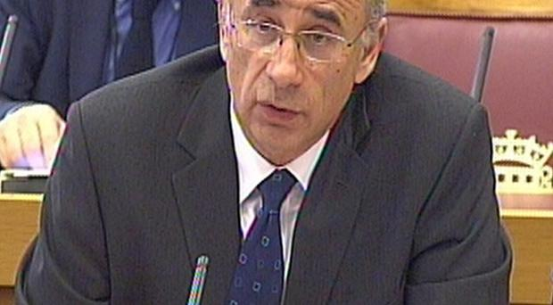 Sir Brian Leveson is addressing MPs as talks resume on a press regulation royal charter