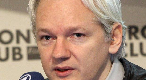 Julian Assange is played by Benedict Cumberbatch in a new film about WikiLeaks and its founder