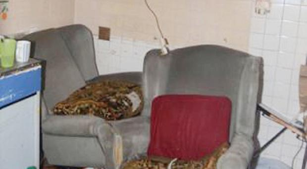 Room above a Burnley shop where a 20-year-old Slovakian woman was held against her will