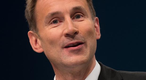 Jeremy Hunt says an independent review will assess the impact of the European Working Time Directive
