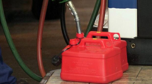 A man has been jailed for 12 years for supplying a friend with a can of petrol to help him try to kill himself
