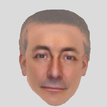 E-fit image of a man seen in the Portuguese town of Praia da Luz at the time of Madeleine McCann's disappearance