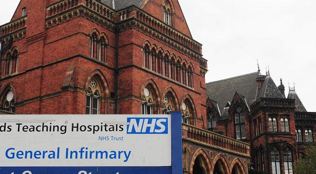 An elderly man was pronounced dead at Leeds General Infirmary after being found in the Harehills area of the city with a head injury