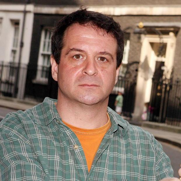 Campaigning comedian Mark Thomas, who was on a building workers blacklist.