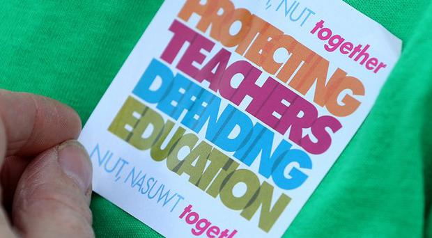 Members of two of England's biggest teaching unions are set to take part in the second day of walkouts this term