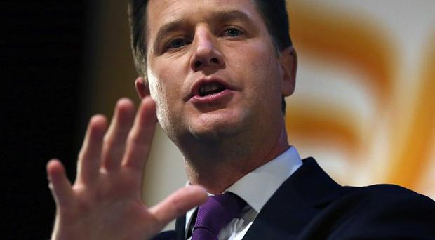 Deputy Prime Minister Nick Clegg has warned that