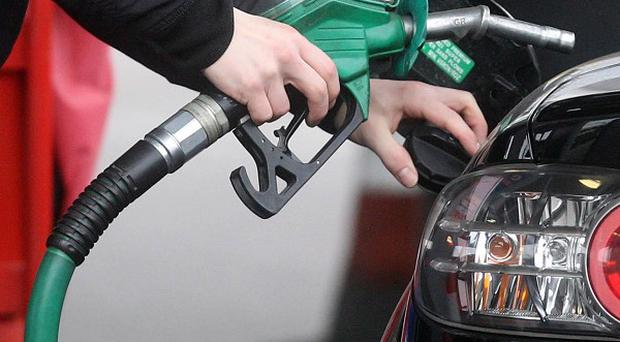 Average petrol prices in the UK fell 5.49p a litre between mid September and mid-October - the biggest monthly fall since November 2008, the AA said