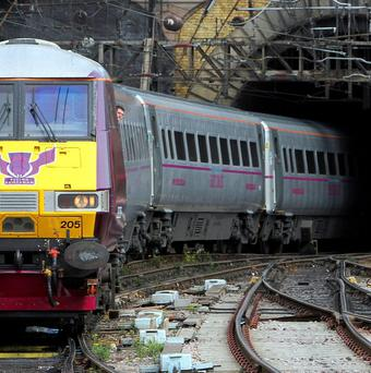 The privatisation of railways across the water has been a great train robbery, says Eamonn McCann
