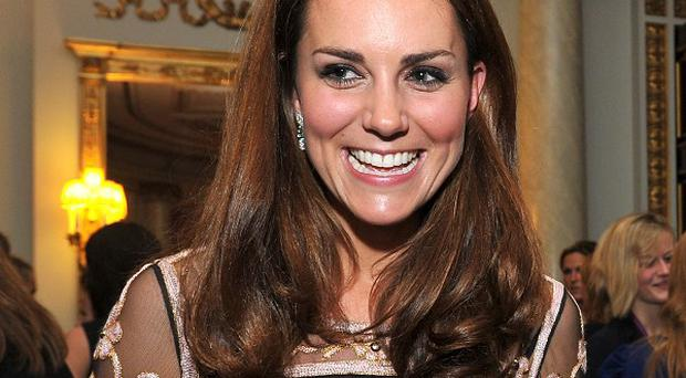 The Duchess of Cambridge will visit the former Olympic Park to meet young athletes who are being helped by one of her charities .