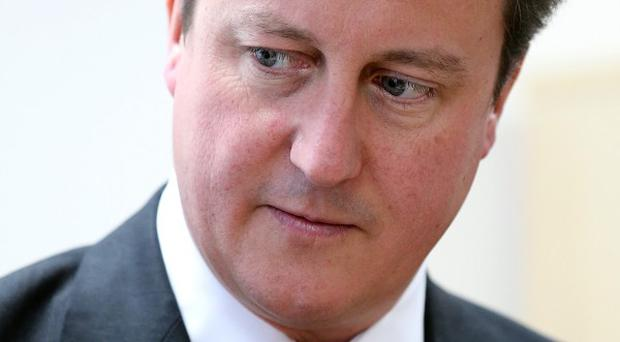 David Cameron has spoken out in response to a