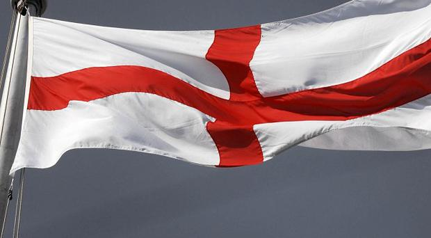 The English would like to see St George's Day celebrated more, a poll found