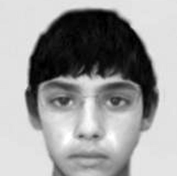 Evofit image issued by Greater Manchester Police of a boy aged just 12, who may be responsible for a string of sex attacks around a university campus.