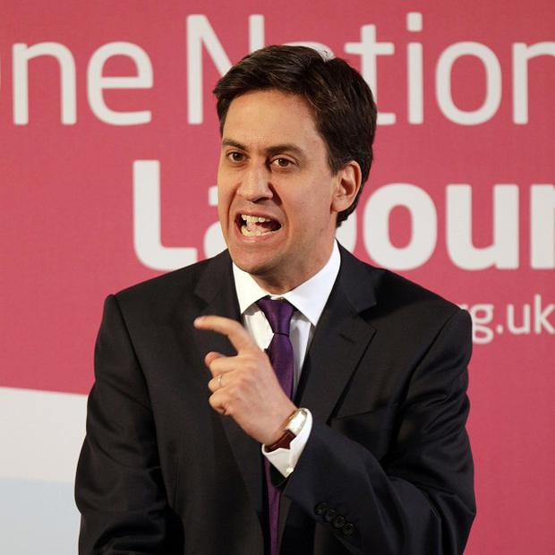 Ed Miliband's Labour party is just three points ahead of the Tories in a new poll