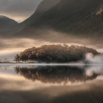 A picture of Crummock Water, Cumbria, by Tony Bennett (Tony Bennett BSc LRPS/Take a View Landscape Photographer Of The Year Awards/PA)