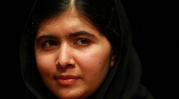 Malala Yousafzai told an event to launch her book that people are not powerful when they have a gun, but when they have a pen.