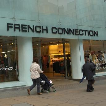 French Connection has around 120 stores and concession outlets in the UK and Europe