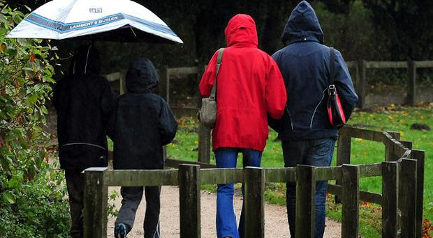 The rainy spell is set to continue over the next 10 days, say forecasters.