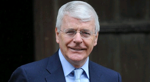 Sir John Major said there was