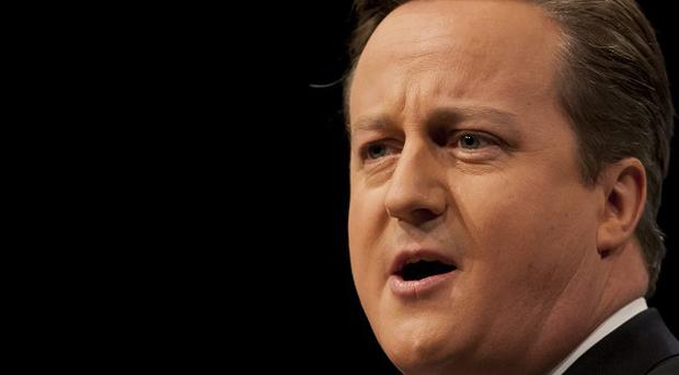 David Cameron said he wants to 'get to grips' with 'green' regulations which were driving up energy bills