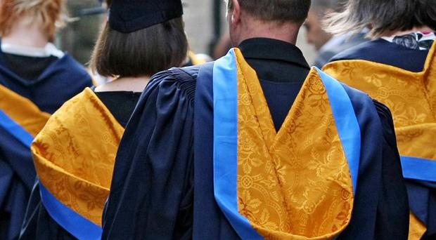 Figures showed 38% of those who were 18 in 2011/12 went into higher education, up from three in 10 in 1998/99