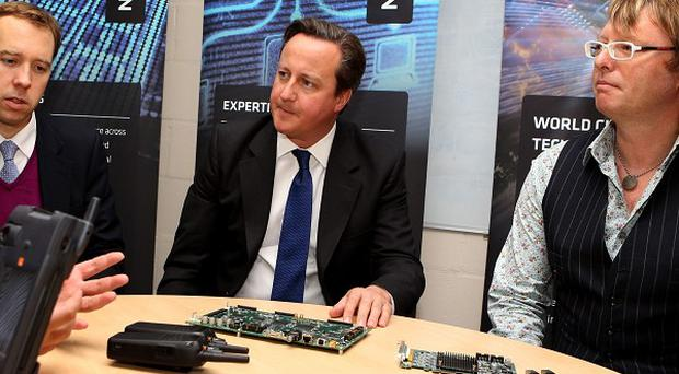 Prime Minister David Cameron has welcomed figures suggesting a record number of businesses are operating.
