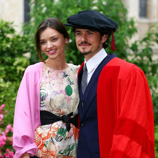 Orlando Bloom and Miranda Kerr have been married three years