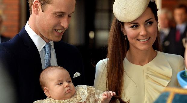 Proud dad the Duke of Cambridge has spoken about sitting with Prince George at Villa Park