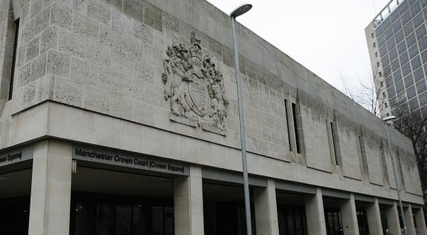The trio were sentenced at Manchester Crown Court