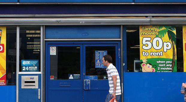 Blockbuster has been put into administration for a second time this year.