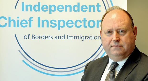 John Vine, the Chief Inspector of Borders and Immigration, says children seeking asylum must be dealt with in a timely manner