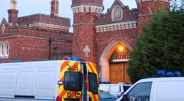 A prisoner found dead at Lincoln Prison is thought to have been murdered.
