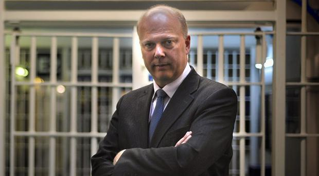 Justice Secretary Chris Grayling said the changes to the incentive scheme are about making prisoners work towards their rehabilitation