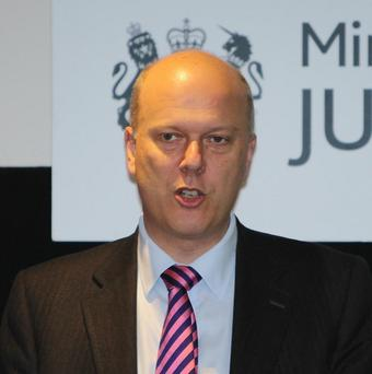 Justice Secretary Chris Grayling said human rights laws need to change to make it easier to deport foreign criminals