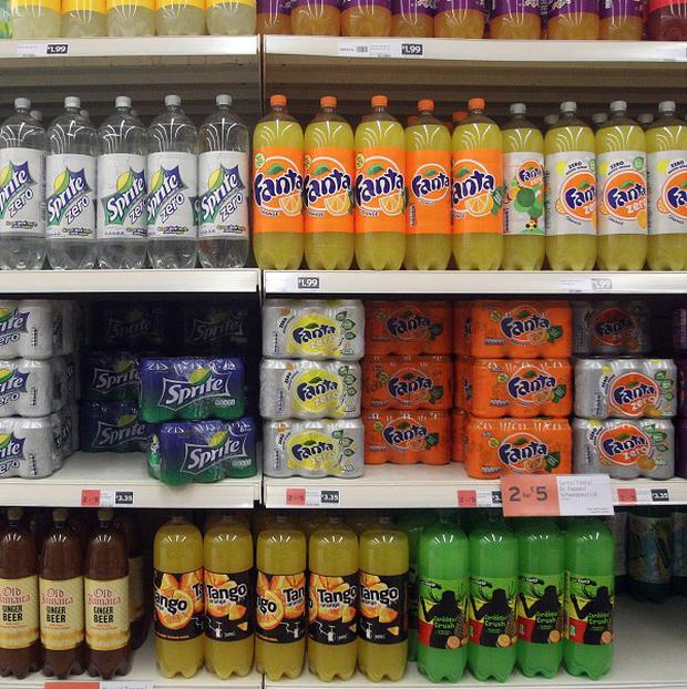 Researchers said a 20 per cent tax on sugary drinks would put about 12p on a 330ml can bought in a supermarket