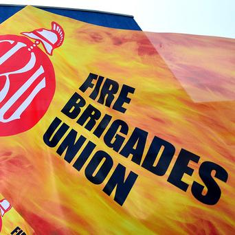 The union claimed the Government had worsened its offer on pensions and retirement age to firefighters ahead of the latest strike