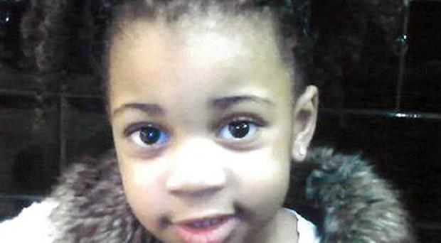 Delroy Catwell will be sentenced for the murder of three-year-old Lylah Aaron (South Yorkshire Police/PA)
