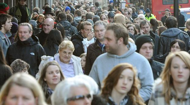 Figures show a projected population increase of 9.6 million over the next 25 years to 73.3 million in mid-2037