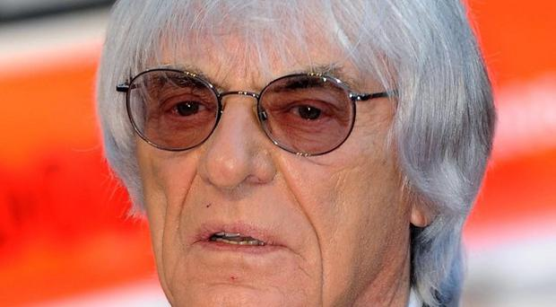 Bernie Ecclestone has denied making a 'corrupt bargain' in a bid to stay in a position of influence in Formula 1 racing