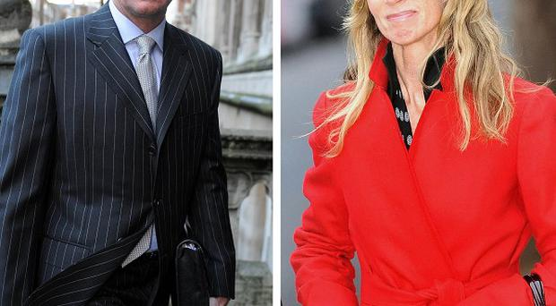 Scot Young, 51, and his estranged wife Michelle, 49.