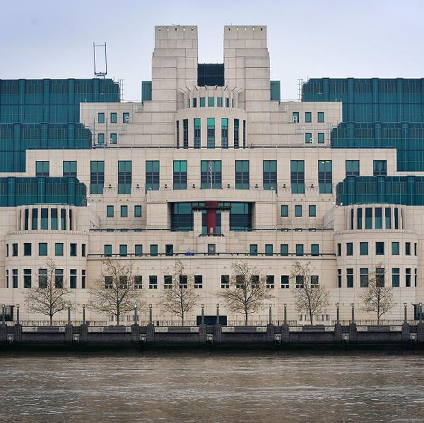 The headquarters of MI6 in London, whose chief Sir John Sawers, will answer questions about its work.