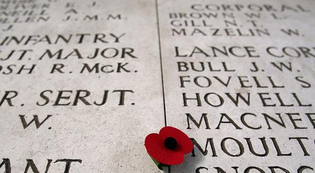 One of the most well-known memorials is the Menin Gate in Ypres, Belgium