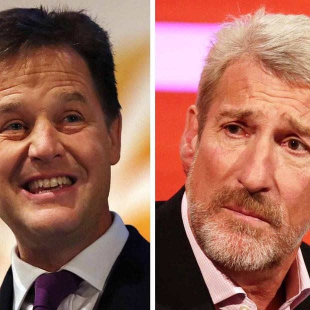 Nick Clegg has criticised Jeremy Paxman's