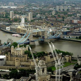 It is thought Gianni Sonvico may have fallen into the Thames, near the Tower Hill area of London