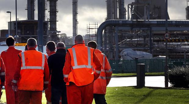 Tory MP Priti Patel has asked police to investigate alleged intimidation of bosses at Grangemouth